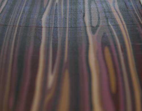 Holzimitat aus Fimo