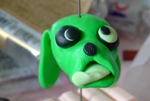 ausserirdischer Grünhund von Tumana